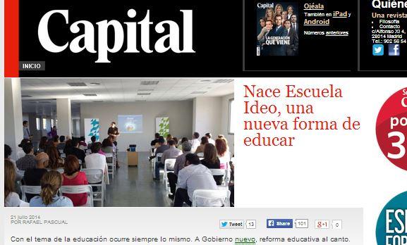 Escuela Ideo en Capital