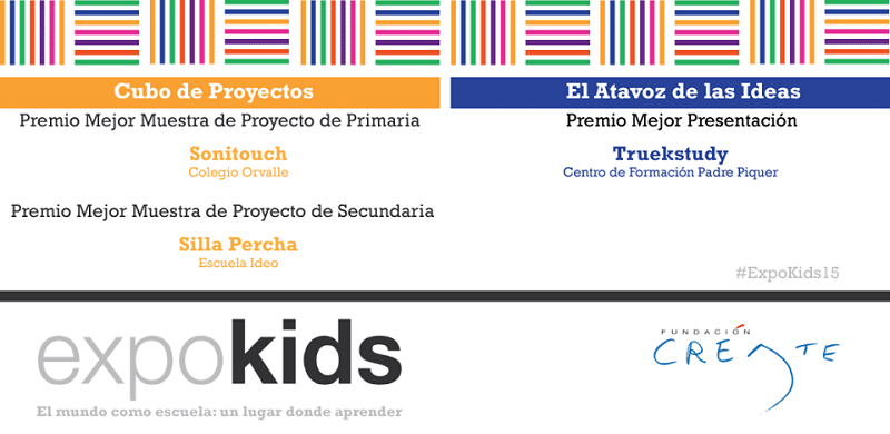 Premio Mejor Muestra de Proyecto de Secundaria a Escuela Ideo